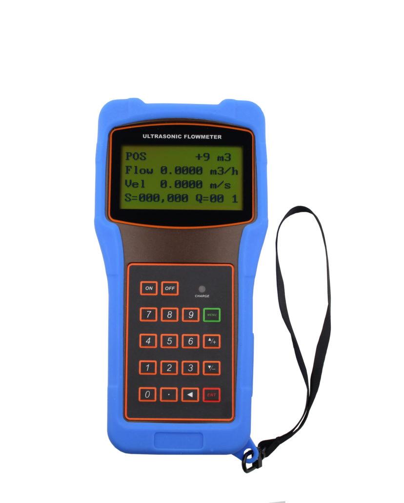 Handhållen Flödesmätare LRF-2000H Ultraljud med utanpåliggande sensorer