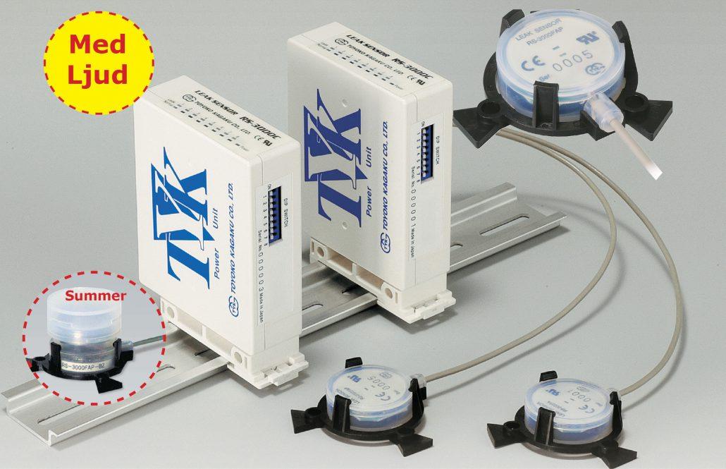 Läckagelarm/ vätskelarm RS-3000