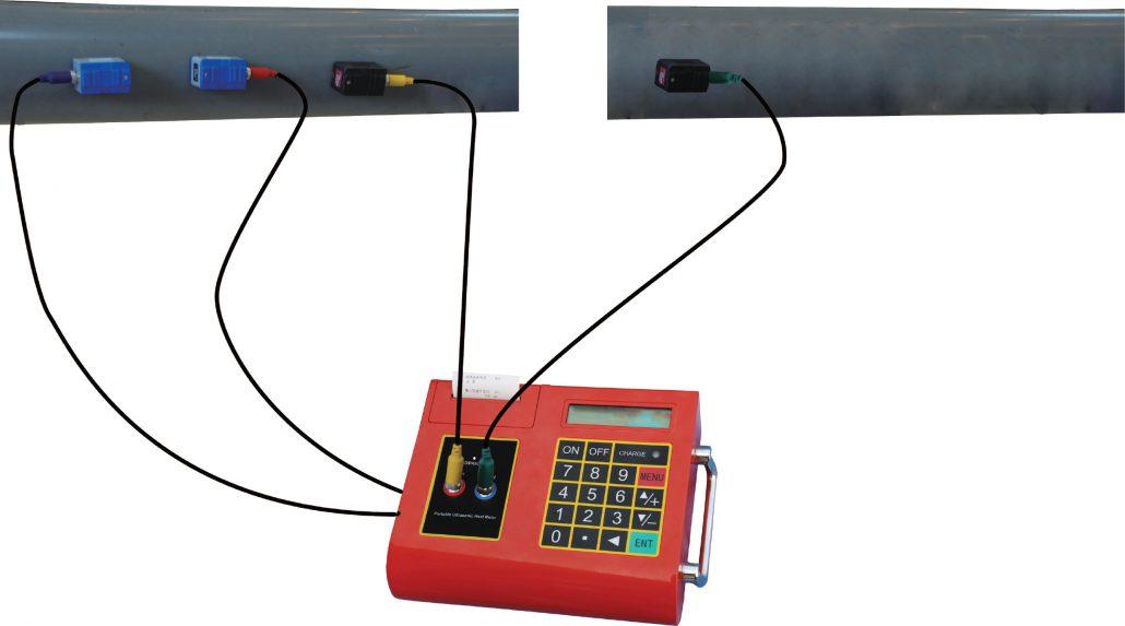 Portabel Energiflödesmätare LRF-2000P GENII