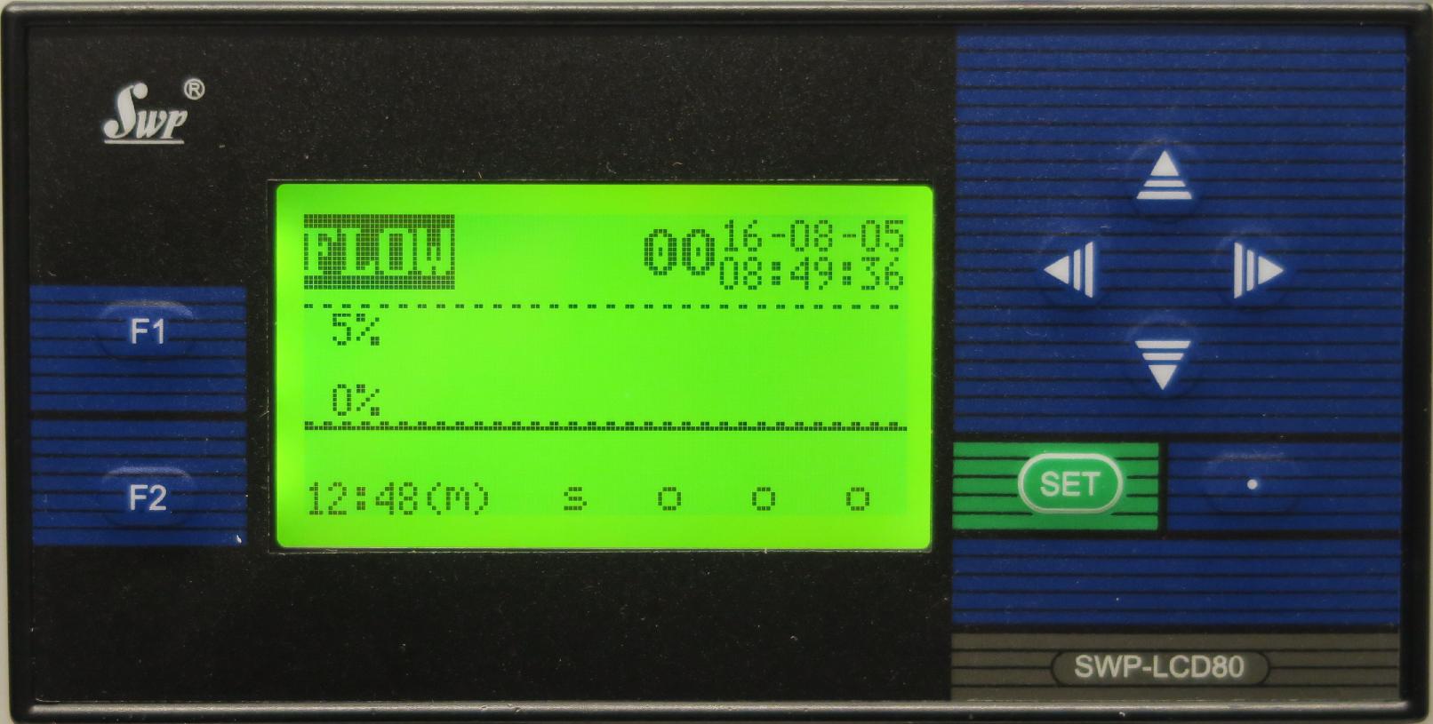 Smart Panelinstrument LCD80