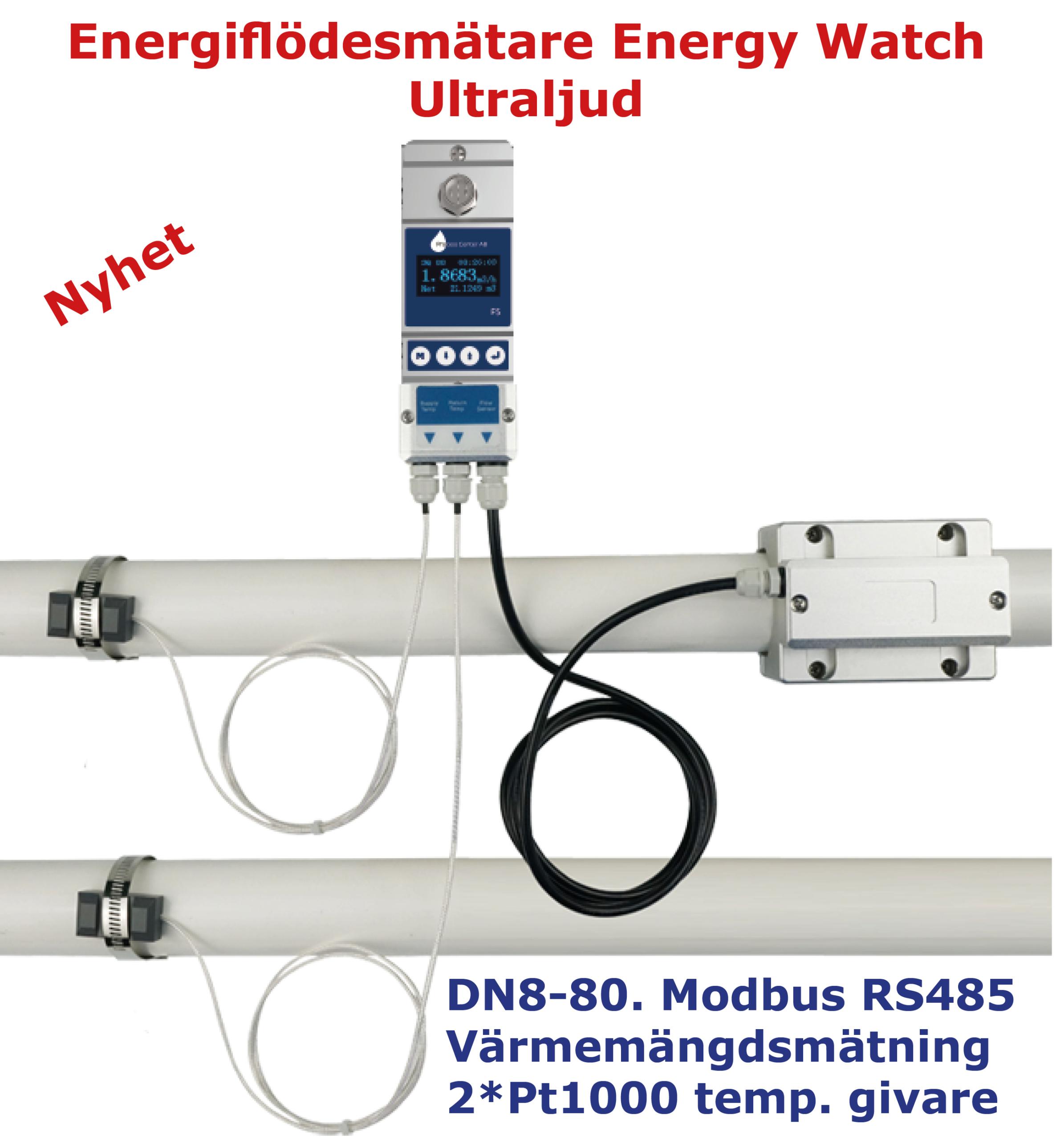 Värmemängdsmätare Energy Watch