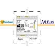 Protokollomvandlare Modbus RS485 - M-Bus slavar