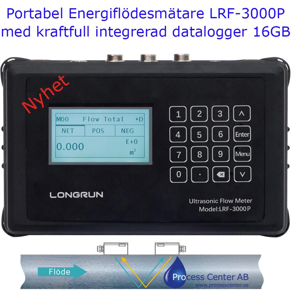 Kraftfull Portabel Energiflödesmätare LRF-3000P
